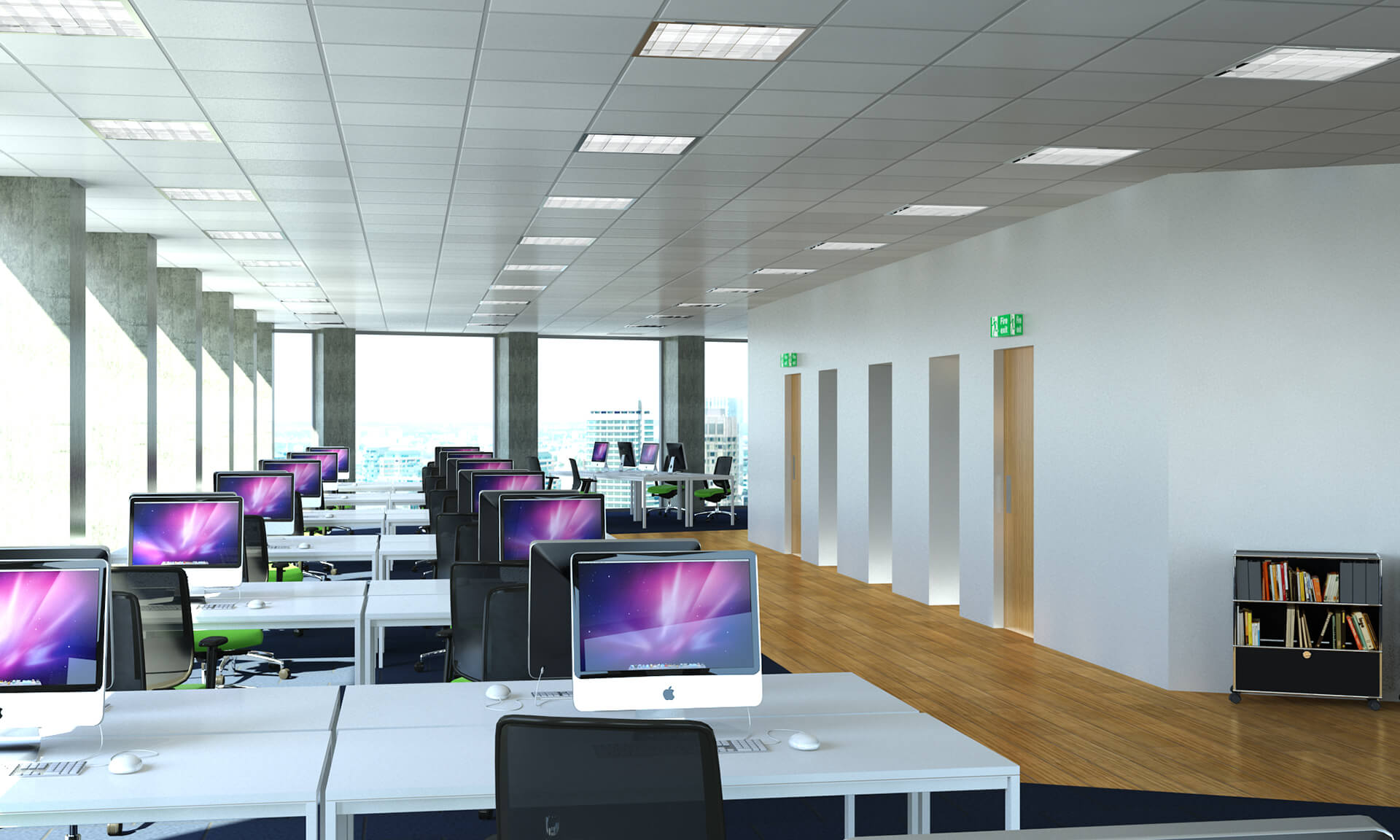 3D Visualisation Office Interior